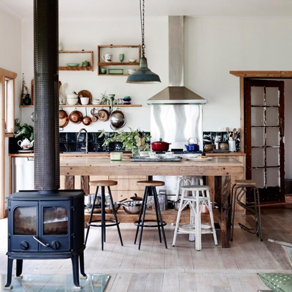 Une cuisine de style campagnard facile recr er for Cuisine style campagnard