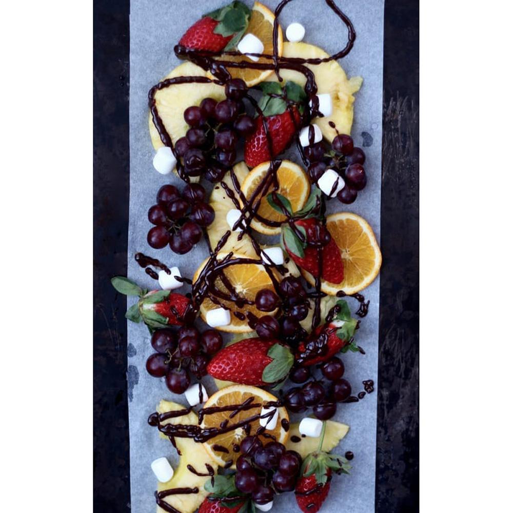 Fondue au chocolat et l 39 orange cuisine blogue for Papier parchemin cuisine