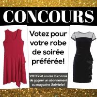 Concours: votez pour votre robe de soirée préférée!