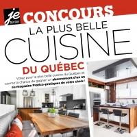 Concours - La plus belle cuisine du Québec 2017