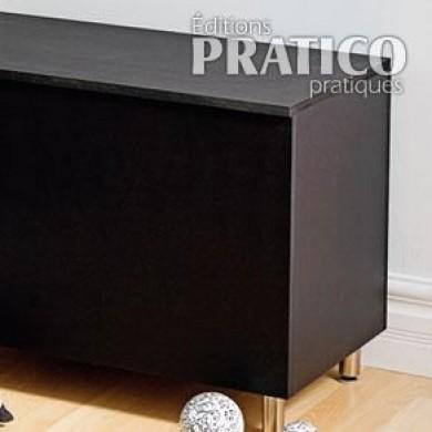 fabriquer un coffre de rangement plans et patrons d coration et r novation pratico pratique. Black Bedroom Furniture Sets. Home Design Ideas