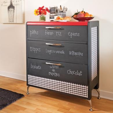 transformer une commode en buffet tableau cuisine avant apr s d coration et r novation. Black Bedroom Furniture Sets. Home Design Ideas