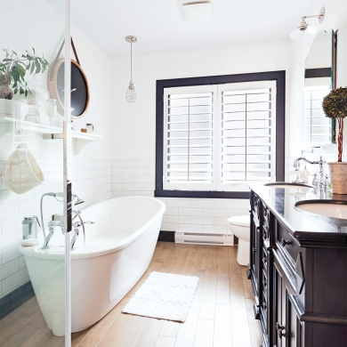 Shabby chic salle de bain inspirations d coration et for Accessoires de salle de bain shabby chic