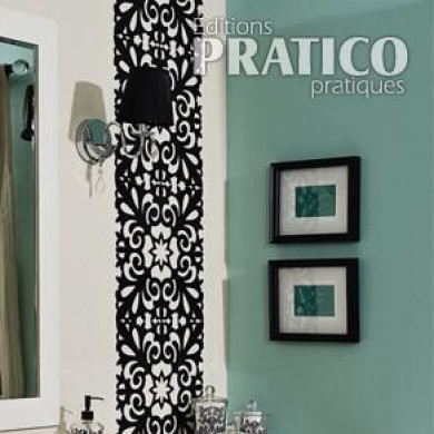 Fabriquer un miroir pour la salle de bain en tapes for Fabrication d un miroir