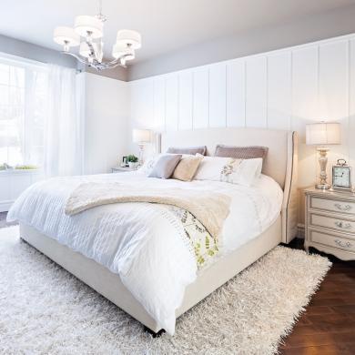 r ver en blanc chambre inspirations d coration et r novation pratico pratique. Black Bedroom Furniture Sets. Home Design Ideas