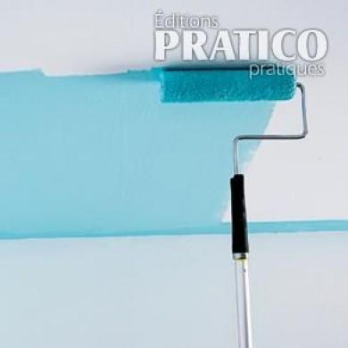 peindre un plafond technique de base en tapes d coration et r novation pratico pratique. Black Bedroom Furniture Sets. Home Design Ideas