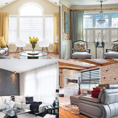 10 id es pour habiller les fen tres trucs et conseils d coration et r novation pratico. Black Bedroom Furniture Sets. Home Design Ideas