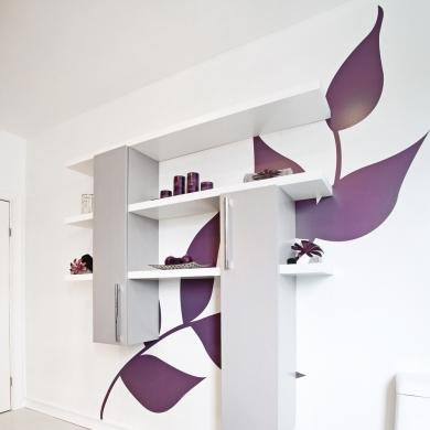 cr ez votre propre murale chambre inspirations. Black Bedroom Furniture Sets. Home Design Ideas