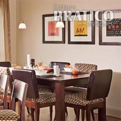 Espace salle à manger remodelé