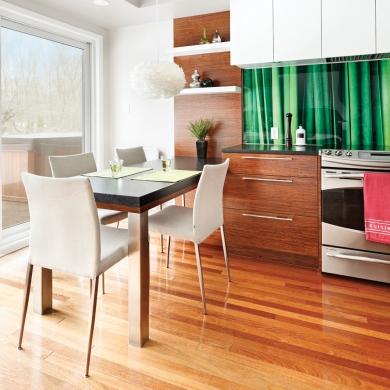 Une salle manger int gr e la cuisine salle manger for Renovation salle a manger et salon