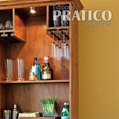 fabriquer un bar plans et patrons d coration et r novation pratico pratique. Black Bedroom Furniture Sets. Home Design Ideas
