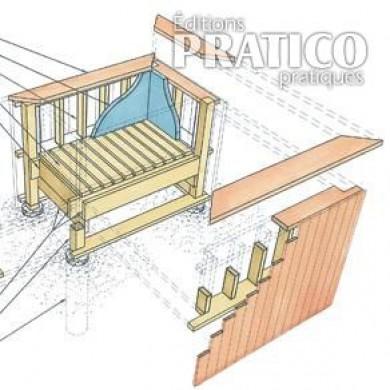 trois exemples de bo tes fleurs pour le patio plans et. Black Bedroom Furniture Sets. Home Design Ideas