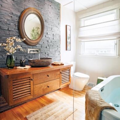 esprit zen dans la salle de bain salle de bain inspirations d coration et r novation. Black Bedroom Furniture Sets. Home Design Ideas
