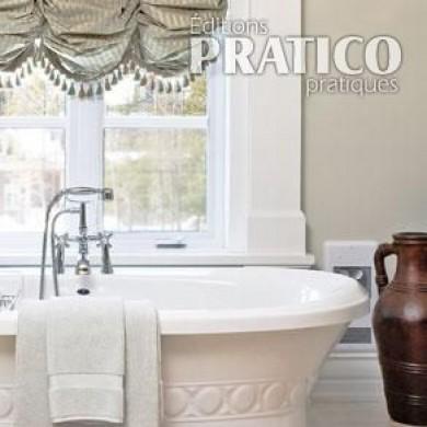 romantique baignoire salle de bain inspirations d coration et r novation pratico pratique. Black Bedroom Furniture Sets. Home Design Ideas