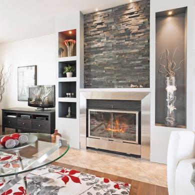 foyer actualis au salon salon avant apr s d coration et r novation pratico pratique. Black Bedroom Furniture Sets. Home Design Ideas