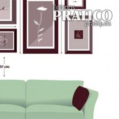 comment placer des cadres trucs et conseils d coration. Black Bedroom Furniture Sets. Home Design Ideas