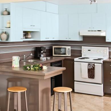 cure de jeunesse pour la cuisine de m lamine cuisine avant apr s d coration et r novation. Black Bedroom Furniture Sets. Home Design Ideas