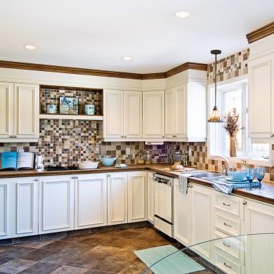 r novation abordable de la cuisine cuisine avant apr s. Black Bedroom Furniture Sets. Home Design Ideas