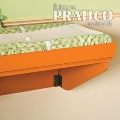 Comment fabriquer une table langer en tapes d coration et r novation pratico pratique - Fabriquer une table a langer ...