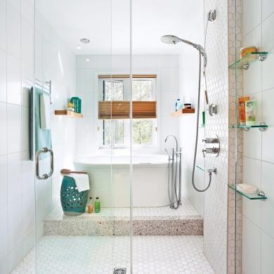 salle de bain spa decor ff39 jornalagora. Black Bedroom Furniture Sets. Home Design Ideas