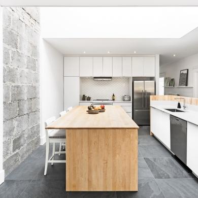 Lumi re urbaine dans la cuisine cuisine inspirations for Decoration cuisine urbaine