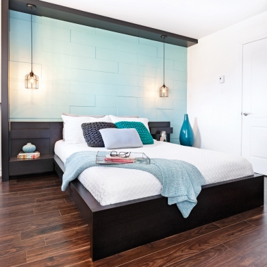 en tapes cr er un mur effet 3d en tapes d coration et r novation pratico pratique. Black Bedroom Furniture Sets. Home Design Ideas
