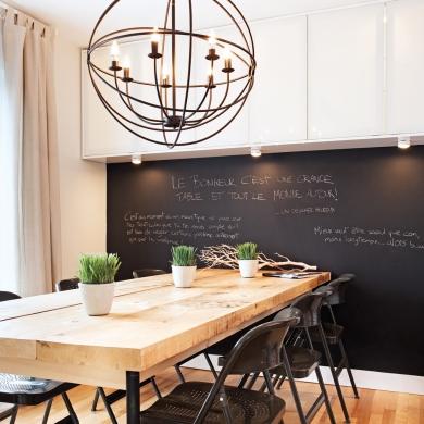 Luminaire surdimensionn pour la salle manger salle for Luminaire pour salle a manger