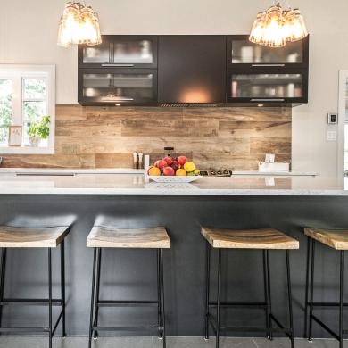 le style rustique chic pour la cuisine cuisine inspirations d coration et r novation. Black Bedroom Furniture Sets. Home Design Ideas