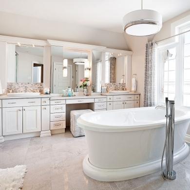 style boudoir salle de bain inspirations d coration et r novation pratico pratique. Black Bedroom Furniture Sets. Home Design Ideas