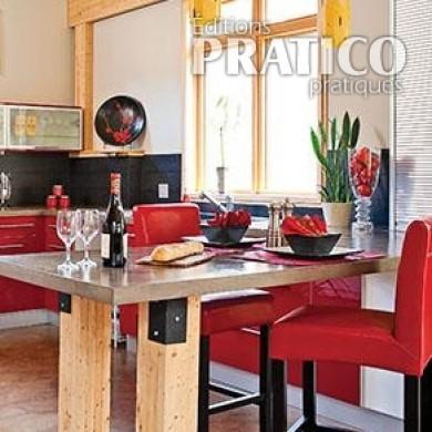 une cuisine originale l 39 esprit industriel cuisine inspirations d coration et r novation. Black Bedroom Furniture Sets. Home Design Ideas