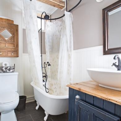 Petite salle de bain fonctionnelle Salle de bain