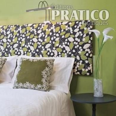 comment fabriquer une t te de lit en tapes d coration. Black Bedroom Furniture Sets. Home Design Ideas