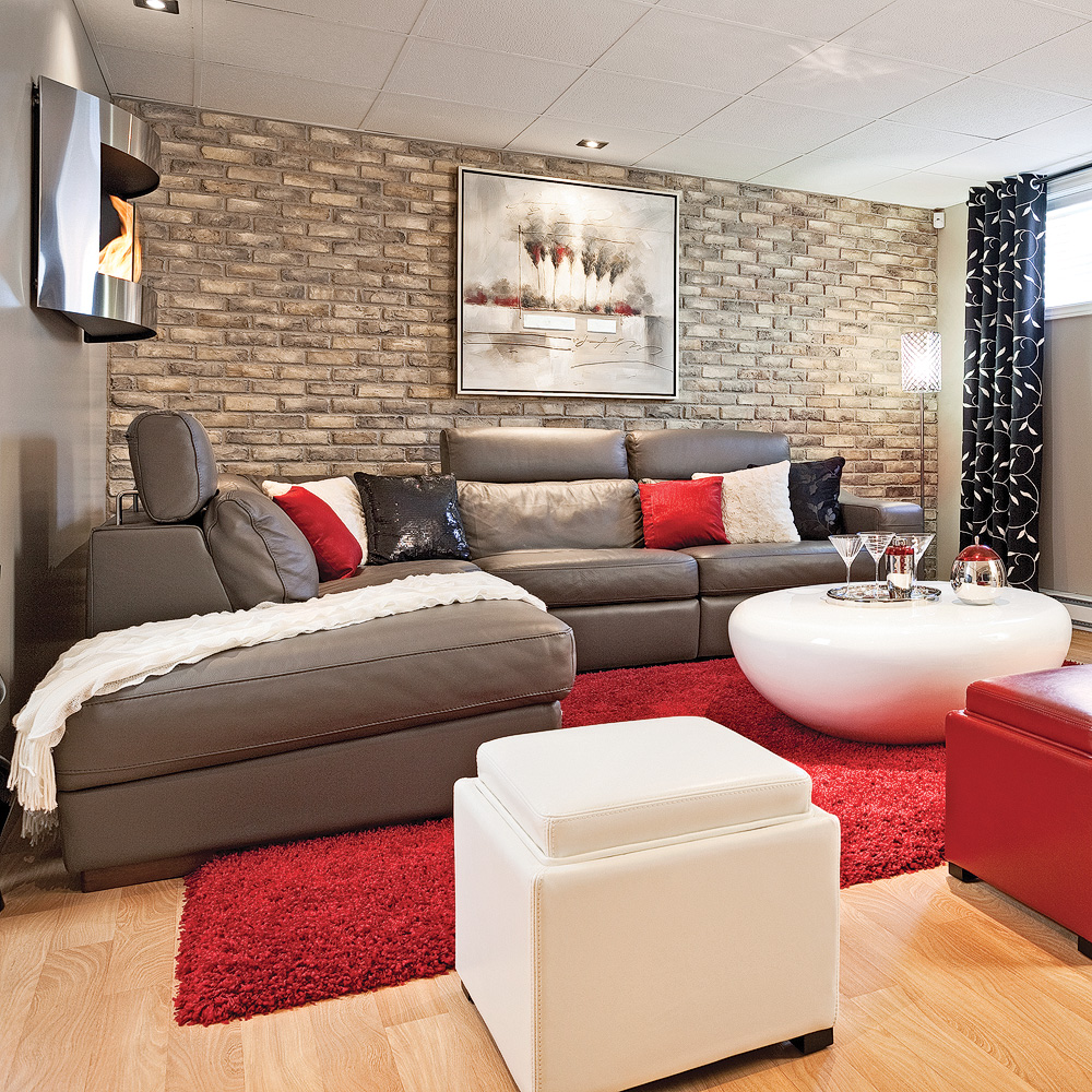 espace actuel et familial salon avant apr s. Black Bedroom Furniture Sets. Home Design Ideas