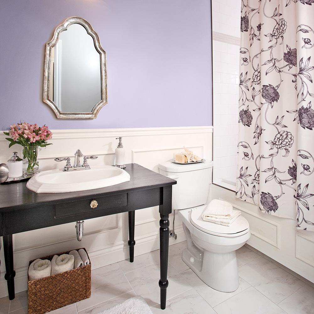 Parfum de lavande dans la salle de bain - Salle de bain ...