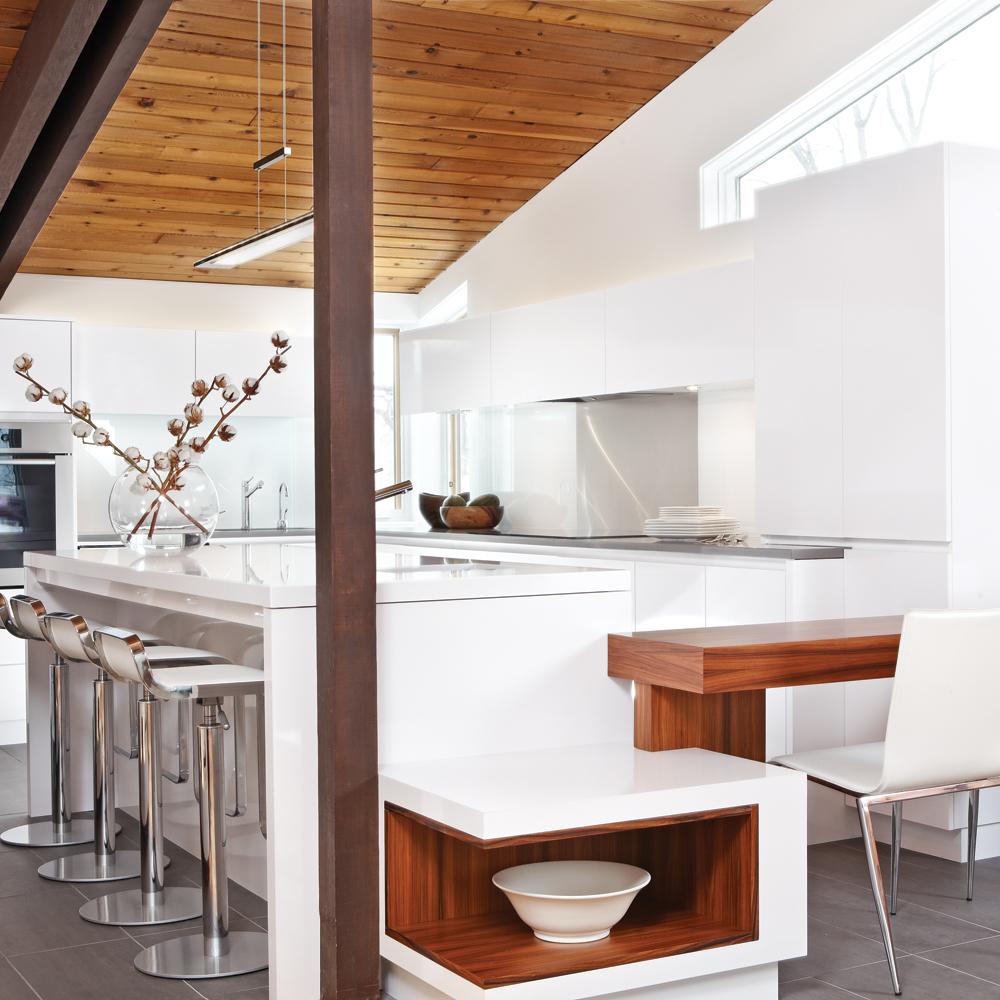 Une cuisine chic et tout en sobri t cuisine inspirations d coration et r novation - Gonthier cuisine et salle de bain ...