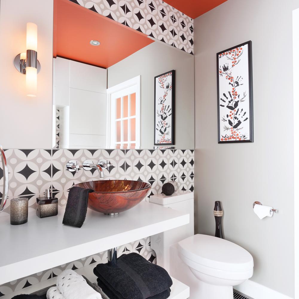 Motifs marocains - Salle de bain - Inspirations - Décoration et ...