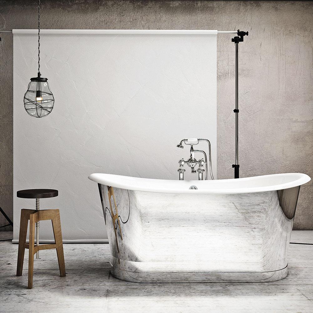 accessoires d co touche m tallique pour la salle de bain trucs et conseils d coration et. Black Bedroom Furniture Sets. Home Design Ideas