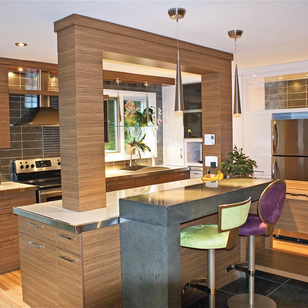 zen et audacieuse cuisine avant apr s d coration et r novation pratico pratique. Black Bedroom Furniture Sets. Home Design Ideas