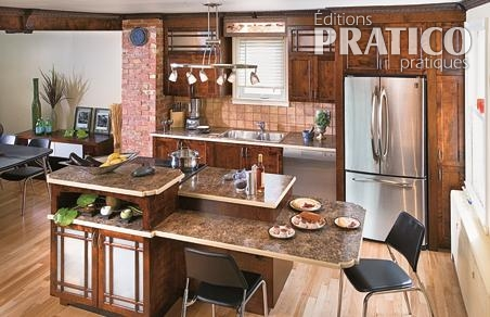 comptoirs en stratifi dans la cuisine je d core. Black Bedroom Furniture Sets. Home Design Ideas