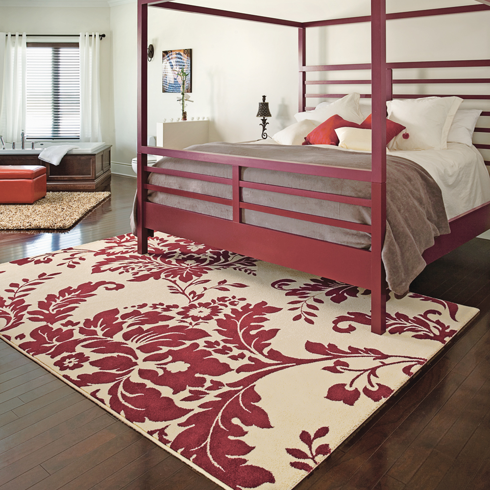 un tapis qui change tout chambre inspirations d coration et r novation pratico pratique. Black Bedroom Furniture Sets. Home Design Ideas