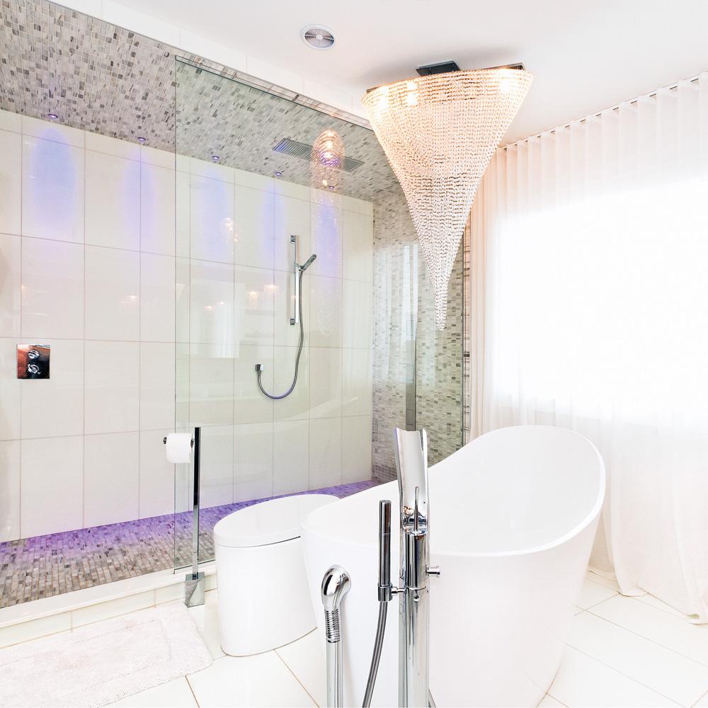 Fantaisie moderne salle de bain inspirations for Deco salle de bain moderne