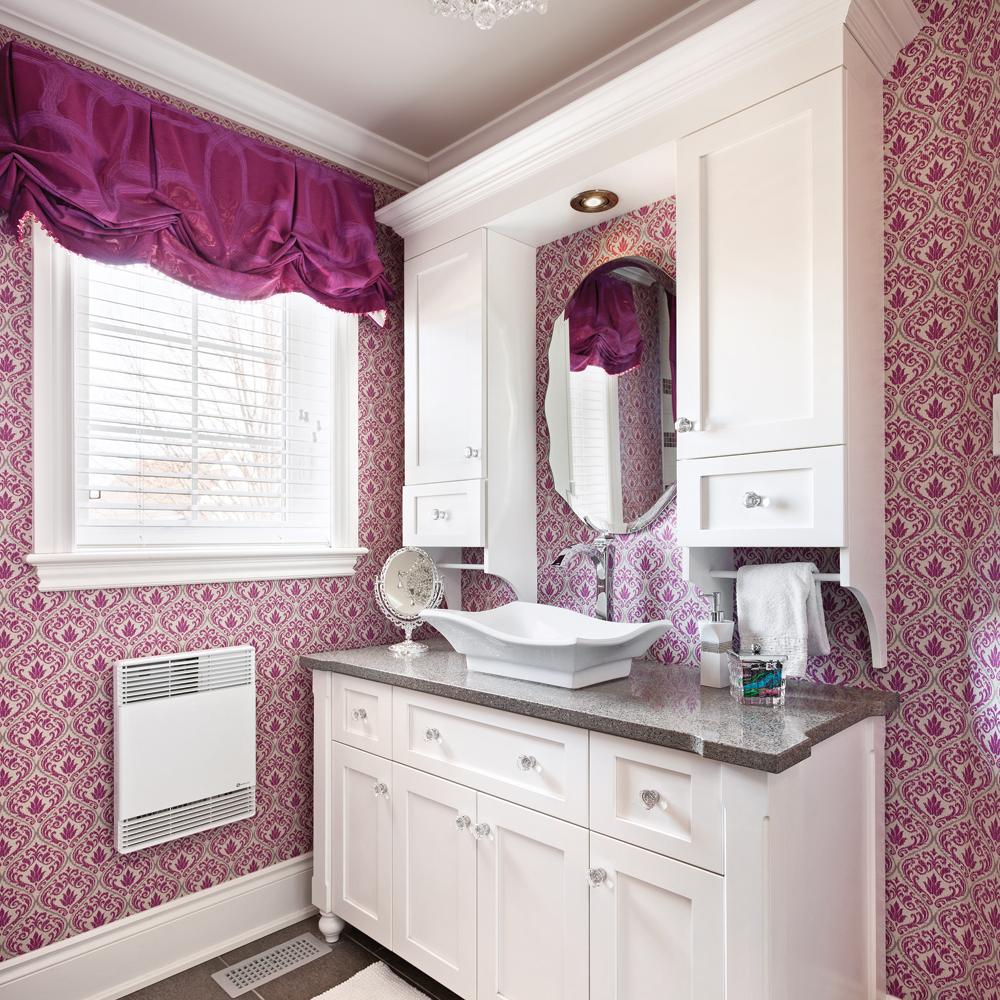 une salle de bain au féminin - salle de bain - inspirations ... - Salle De Bain Feminine