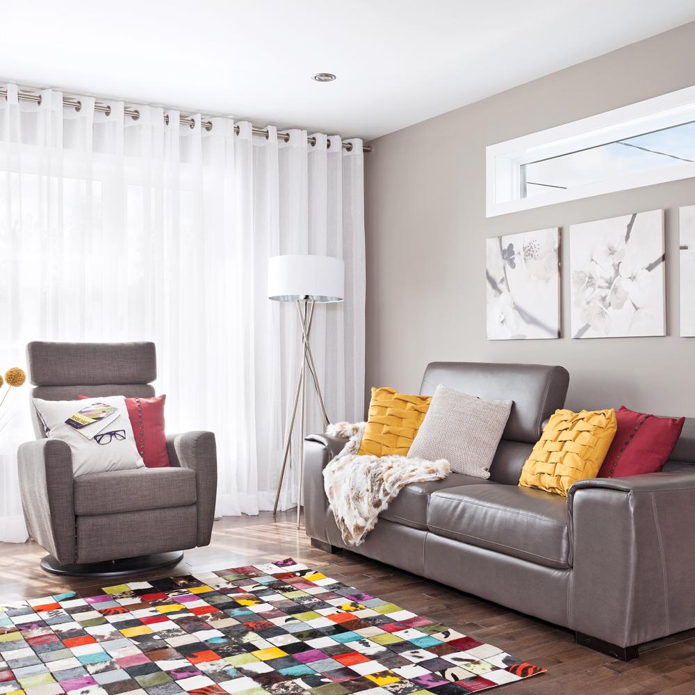 Accessoires color s pour le salon salon inspirations for Decoration et accessoires