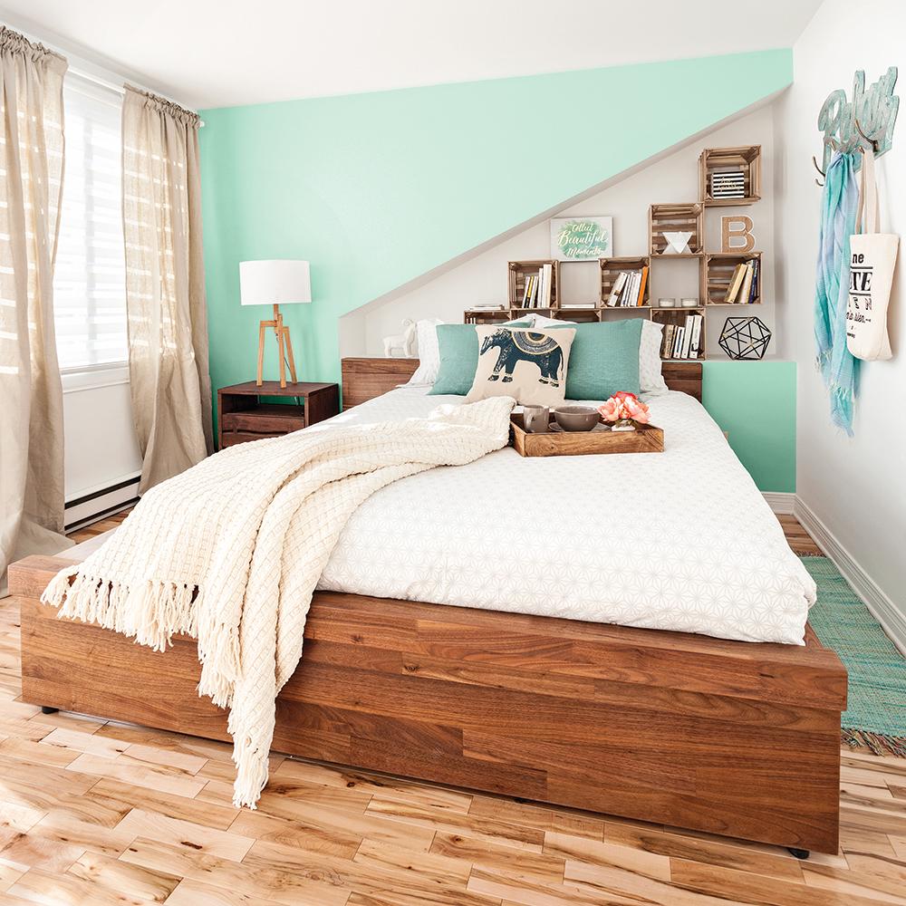 shopping d co chambre clectique chambre inspirations d coration et r novation pratico. Black Bedroom Furniture Sets. Home Design Ideas