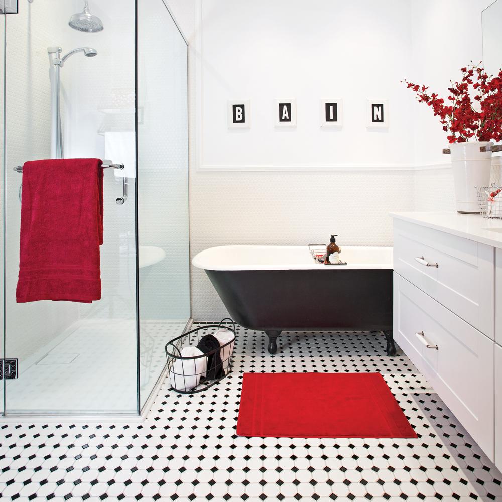 Classique actualis pour la salle de bain salle de bain for Pour la salle de bain