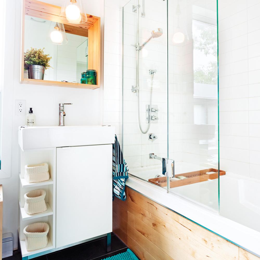 Cohabitation organique dans la salle de bain salle de for Video dans la salle de bain