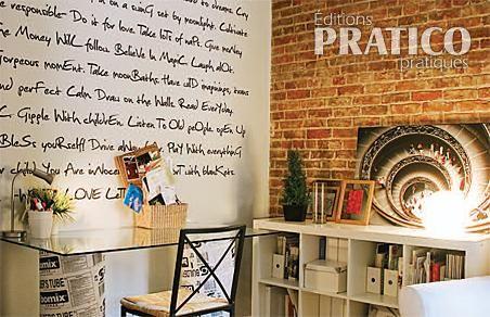 Dessiner sur les murs bureau inspirations d coration - Decoration sur les murs ...