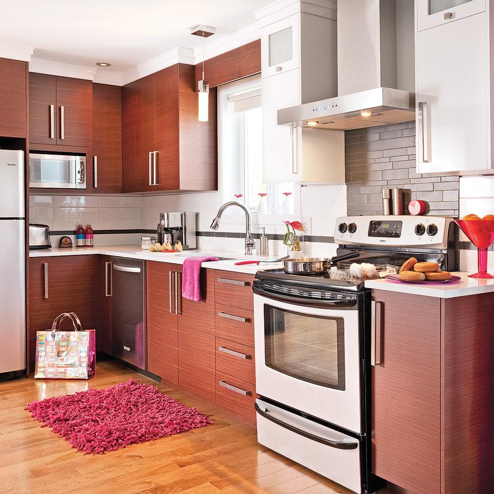 Meilleur de id es dosseret de cuisine pour les armoires en for Armoire pour cuisine