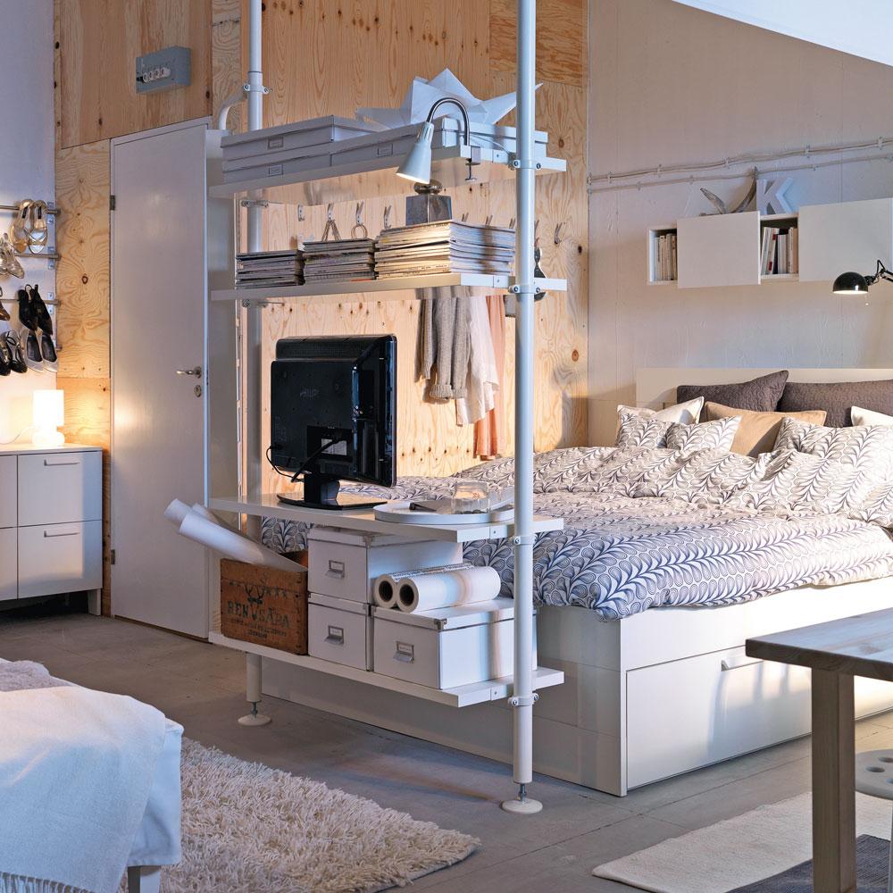 5 trucs pour optimiser les petits espaces trucs et conseils d coration et r novation. Black Bedroom Furniture Sets. Home Design Ideas