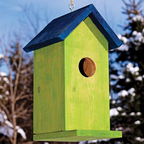 plans pour fabriquer un nichoir pour les oiseaux je jardine. Black Bedroom Furniture Sets. Home Design Ideas